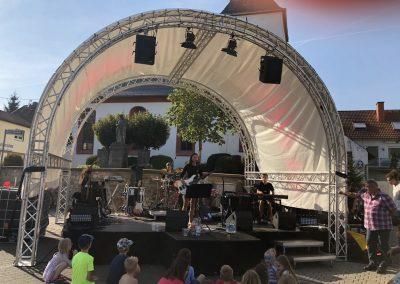triple A band Dorfplatzfest Breckenheim 18.8.2018