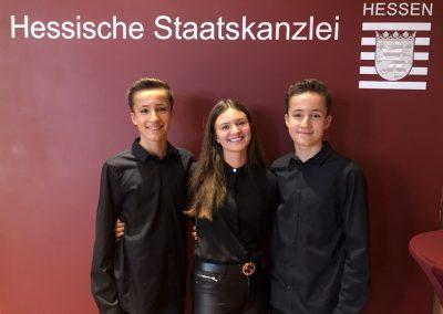 triple A band - Geschichtswettbewerb des Bundespräsidenten - Hessen - Wiesbaden - Staatskanzlei 13.09.19